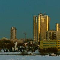 Ладья на закате. :: Сергей Щербатюк