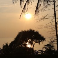 Закат на пляже Най-Харн :: Клава Гоголева