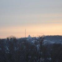 Февральское утро древней Каширы. :: Михаил Столяров