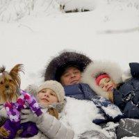Зимние забавы. :: Диана Мелина