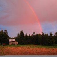 Полуночная радуга в Финляндии :: Martta Aurinko