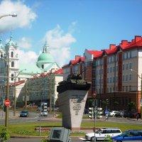 Памятник воинам-освободителям. Танк Т-34. Гродно (Беларусь) :: Лёля Совина