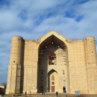 Kazakhstan Туркестан мовзолей Кожа Ахмет Иассауи :: Aigerim Begimbet