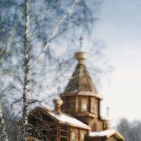 деревянное зодчество в Сибири :: Евгений Фролов