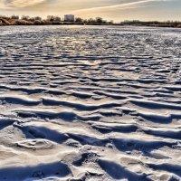 Застывшая река :: Лидия Цапко