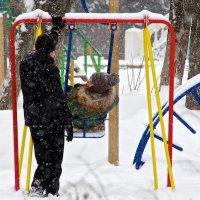 В зимнем парке :: Viktor Eremenko