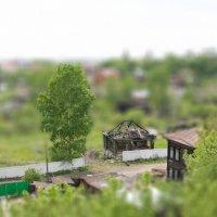 В Томске дома жгут, как игрушки. :: Сергей Игуменшев