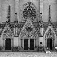 Вход в собор Святого Вацлава - г.Оломоуц, Чехия :: Lmark