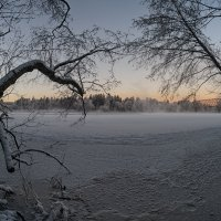 Светает поздно в январе :: Евгений Плетнев