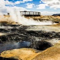 Геотермальные поля Хверир в Исландии. :: Вячеслав Ковригин