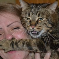 Сестра и кот :: Verulia Verulia