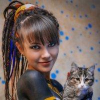 Человек и кошка :: Игорь Лариков