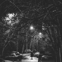 Дождливый январский вечер :: Евгений Елисеев