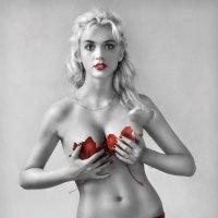 Блондинка в красном... :: Андрей Войцехов