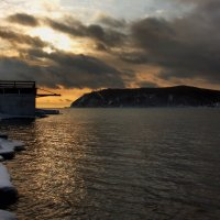 Закат – это солнечный плен…. :: Александр | Матвей БЕЛЫЙ