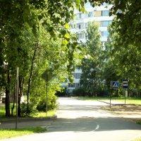 возле школы :: Сергей Кочнев