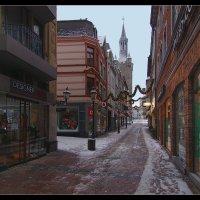 В городе тихо... :: Boris Alabugin
