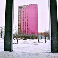 розовый...дом :: Александр. Самара Сорокин