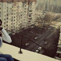 на крыше :: Настя Настя