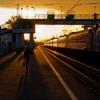 Коломна. Вокзал. :: Игорь Герман