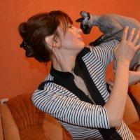 Фото сессия с кошками. :: Михаил Столяров