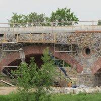 Аутентичная реконструкция моста :: Людмила Жданова