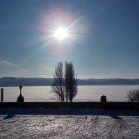 Солнце над Волгой :: лиана алексеева