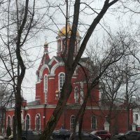 Храм Благовещения Пресвятой Богородицы в Петровском парке :: Владимир Прокофьев