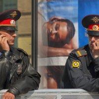 Два стража :: Цветков Виктор Васильевич