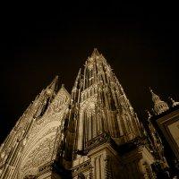 Прага, собор Святого Вита, ночью. 2 :: Владимир Барсуков