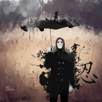 Человек с зонтом :: Андрей Дыдыкин