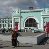 Вокзал. :: Олег Афанасьевич Сергеев