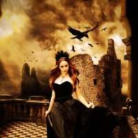 Королева воронов :: Vladlena Bolgova