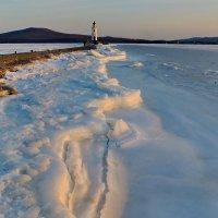 маяк на закате зимой :: Ingwar