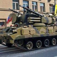 Зенитный ракетно-пушечный комплекс ЗРПК 2К22 Тунгуска :: Владимир Тарасов