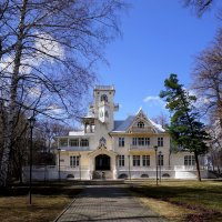 Старый особняк :: Алексей Golovchenko