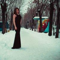 зимняя прогулка по парку :: Андрей Коломейцев