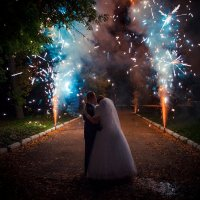 огненные фонтаны :: Sergey Sergeev Photographer