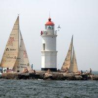 маяк под парусами :: Ingwar