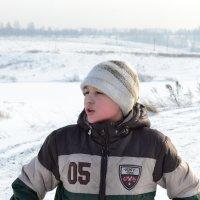 На лыжах :: Наталья Стриженко