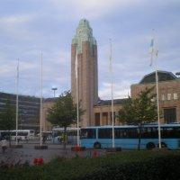 Здание вокзала в Хельсинки. 2012г. :: Мила