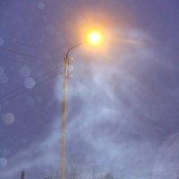 зимний туман... февраль.... вечер.... :: Наталья Меркулова
