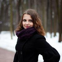 Зимняя фотосессия. Дарья :: Диана Силантьева