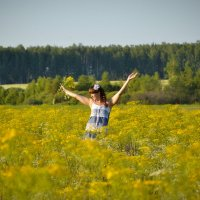 В поле :: Полина Соколова