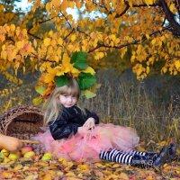 маленькая ведьмочка и волшебная метла :: Катерина Терновая