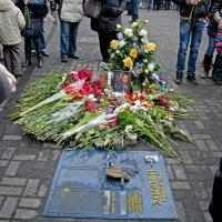 Ukrainian Hero perished here :: Roman Ilnytskyi