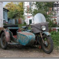 Мотоцикл Ирбит - 1 :: Владимир Попов