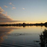 Закат на соленом озере :: Татьяна Пальчикова