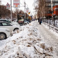 Зимние реалии Новосибирска :: Alexey Bogatkin