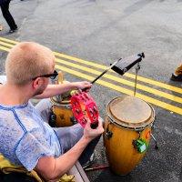 Уличная музыка, олимпийский парк :: Дмитрий Тарнавский